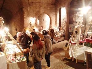 Mercatini di Natale a Perugia - Rocca Paolina